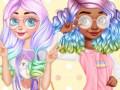 Žaidimai Princesses Kawaii Looks and Manicure
