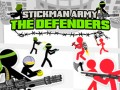 Žaidimai Stickman Army: The Defenders