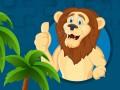 Žaidimai Strong Lions Jigsaw